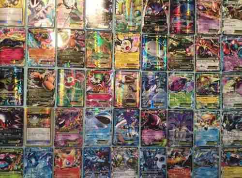 Tarjetas De Pokemon 100 Piezas Todas Brillosas Envío