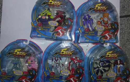 Yugioh Figuras Lote De 5 Figuras