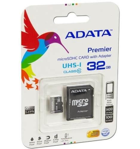 Memoria Micro Sd 32gb Adata Clase 10 Original
