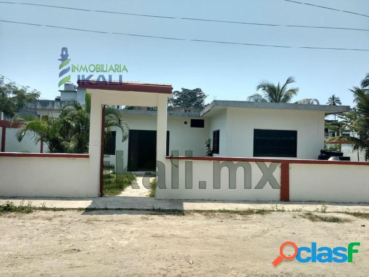 Renta casa 3 recamaras col. La Calzada Tuxpan Veracruz, La