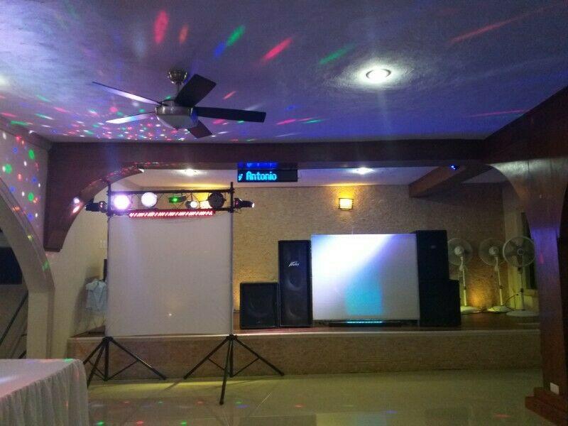 Servicio de luz y sonido con karaoke x 5 hrs en Mérida.