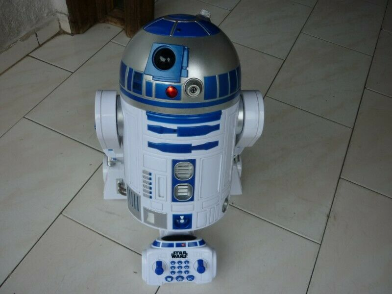 Star Wars R2-d2 A Control Remoto Androide Interactivo