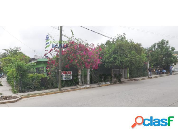 Venta Casa 3 habitaciones Col. Revolución Poza Rica