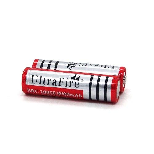 2 Baterias Pilas Ultrafire Mod. De  Mah 3.7v