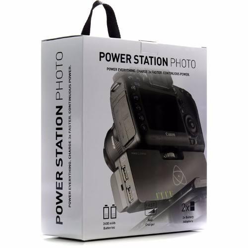 Atomos Power Station Photo, Cargador Y 2 Baterías Np-f570