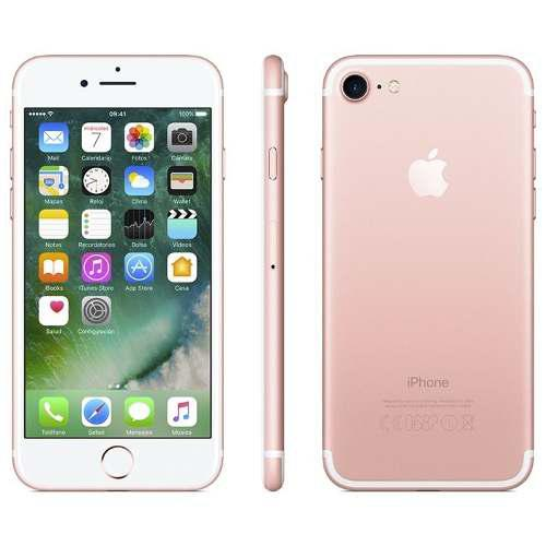 Cambio Iphone 7 128gb Color Rosa Liberado.