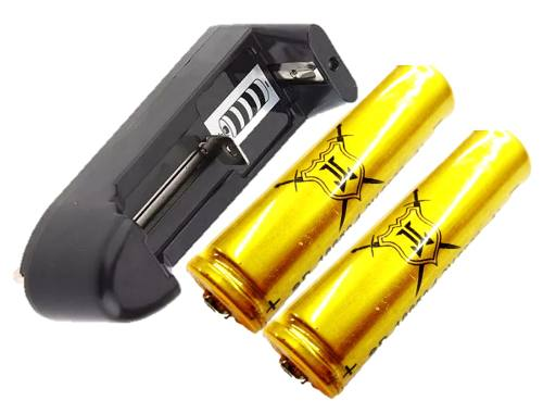 Cargador + 2 Baterias Recargables Ljk  A  Mah