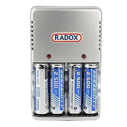 Cargador Baterías Aa Aaa Y 9v+4 Baterias Aa De  Mah