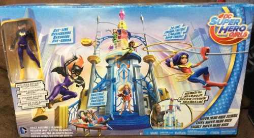Dc Super Hero Girls La Escuela Incluye Batgirl C/envío