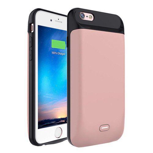 For Iphone 6s Plus - Rose Gold - Nuevo 7200mah Reemplaz-4000