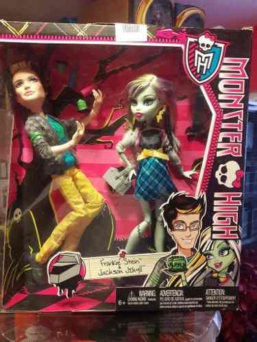 Frankie Stein Y Jackson Jekyll Monster High De Coleccion