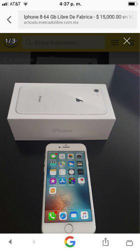Iphone 8 De 64gb