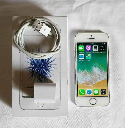Iphone Se 16gb, A1723, Silver, Estetica 9, En Caja, At&t