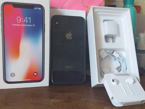 Iphone X 256gb Gris Espacial, (venta O Cambio)
