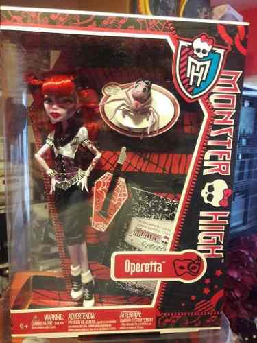 Operetta Monster High De Coleccion