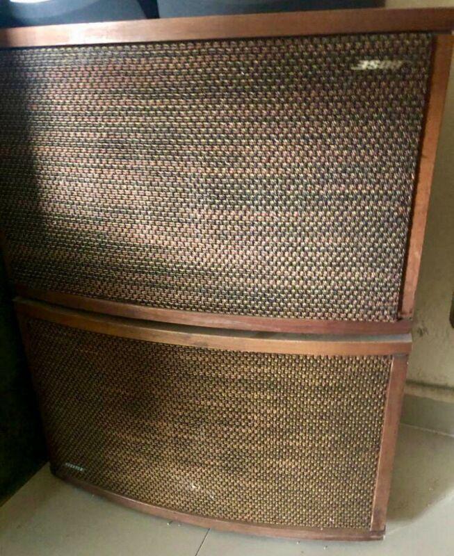 Par de bocinas vintage BOSSE 901 serie Vl