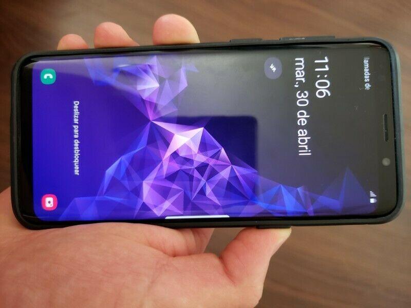 Samsung Galaxy S9 64gb color Negro