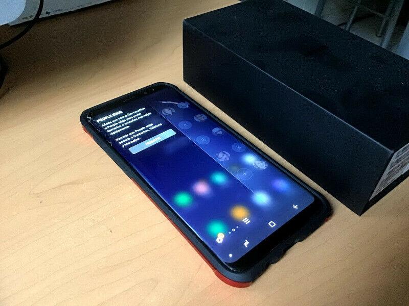 Samsung Galaxy s8 plus 64 gb Att y derivados con detalle en