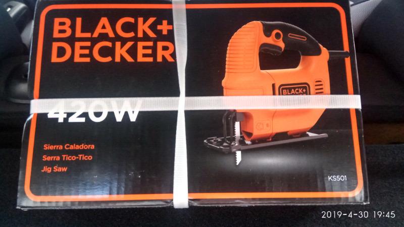 Sierra Caladora 420W Black & Decker