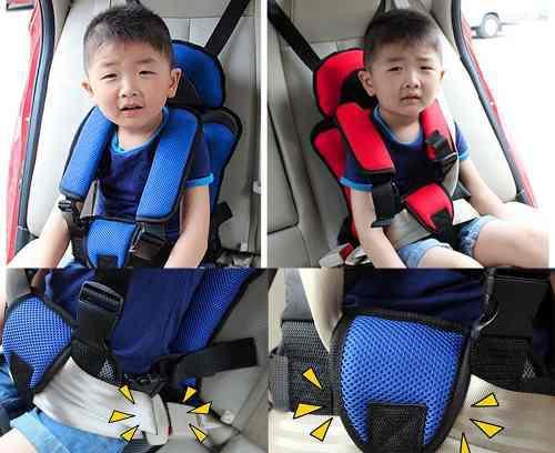Asiento De Auto Mumugongzhu Para Niños Cómodo Regulable