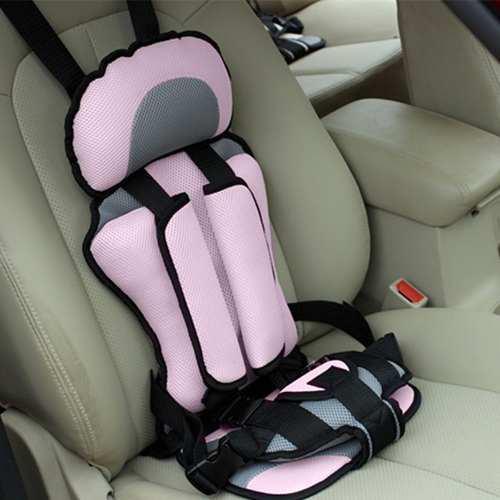 Asiento De Auto Seguridad Para Niños Cómodo Regulable