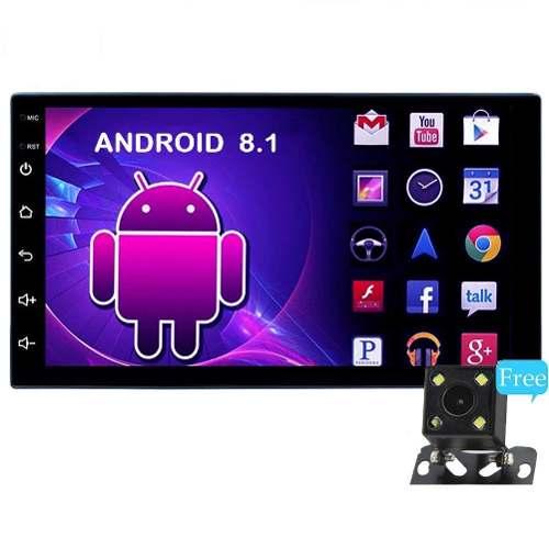 Auto Estéreo Pantalla Touch Android 8.1 Wifi Gps+camara