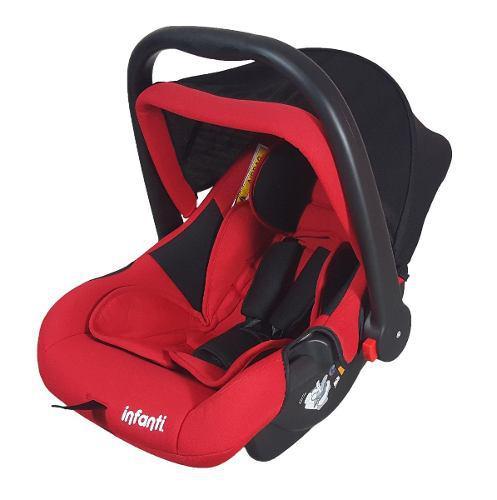 Autoasiento Bebe Portabebe Silla De Auto Infanti Roja Bs 08