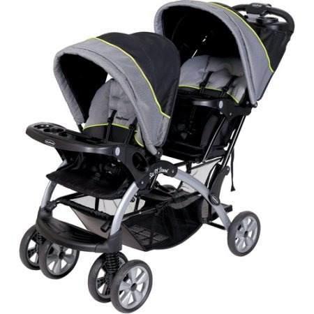 Baby Trend Sit 'n Stand Doble Gemela Plegable