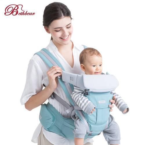 Cangurera Para Bebé Bethbear Ergonómica 3 En 1, 0-36 Meses