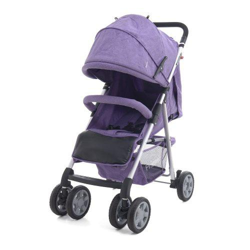 Carriola Bebe Prinsel Barcelona Reclinable Ligera Morada