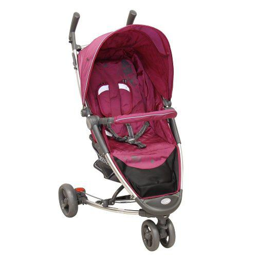 Carriola Bebe Prinsel Helios Reclinable Compacta Rosa