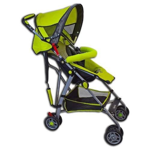 Carriola De Bastón Verde Para Bebé Angelin Nuevo