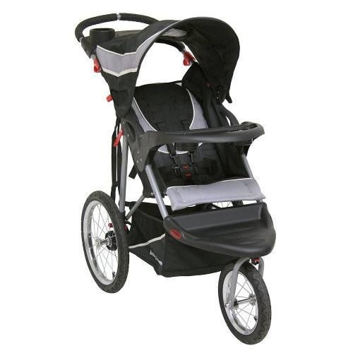 Carriola De Bebe Baby Trend Jogger 3 Llantas De Aire Gris