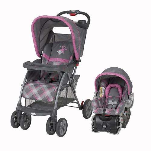 Carriola De Bebe Baby Trend Venture Portabebe Autoasiento