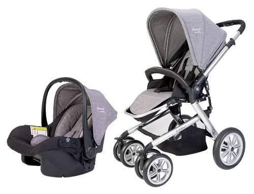 Carriola De Bebe Evenflo Corvi Gray Portabebe Reclinable