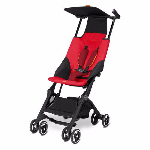 Carriola De Bebe Pockit Gb Plus Reclinable Compacta Roja