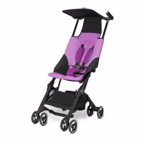 Carriola De Bebe Pockit Gb Plus Reclinable Compacta Rosa