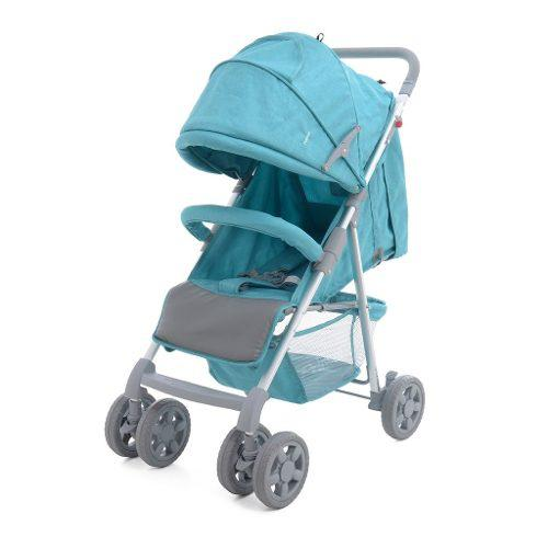 Carriola De Bebe Prinsel Barcelona Reclinable Plegable Menta