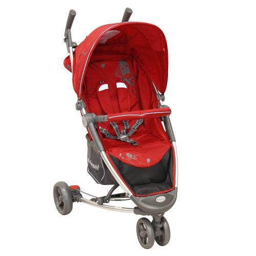 Carriola De Bebe Prinsel Helios Compacta Reclinable