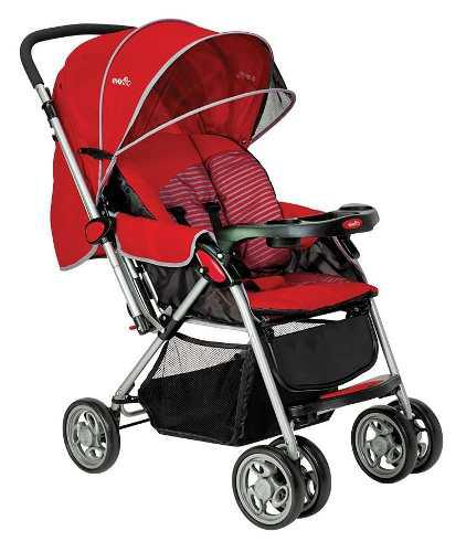 Carriola Para Bebe Evenflo Grand Trip Reclinable Roja