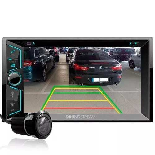 Estereo Pantalla Soundstream Vr-624b Bluetooth Con Cam-rev