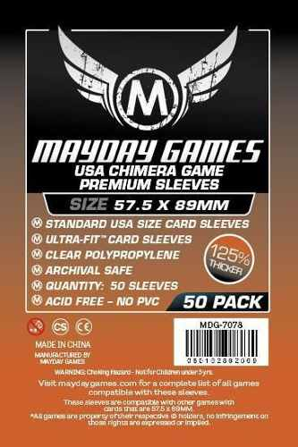 Mayday Micas Usa Chimera Premium 57.5mm X 89mm Pack 50