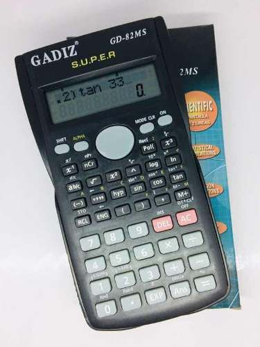Paquete De 10 Calculadora Científica Gadiz Modelo Gd-82ms.