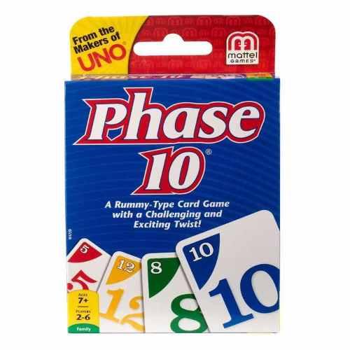 Phase 10, Juego De Cartas De Los Creadores De Uno -original-