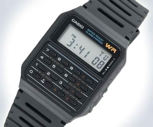 Reloj Casio Ca53 Calculadora Alarma Cronometro Wr
