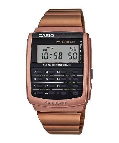 Reloj Casio Retro Vintage Calculadora Alarma Mod Ca-506c-5a