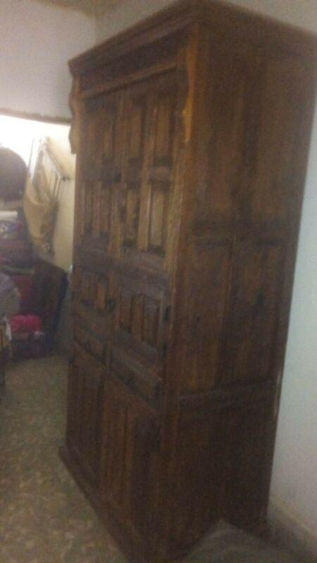 Remato Mueble de Madera Antiguo De Colección
