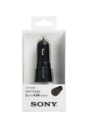 Adaptador De Auto Con Dos Puertos Usb 3.0 Sony Cp-cadm2/bc