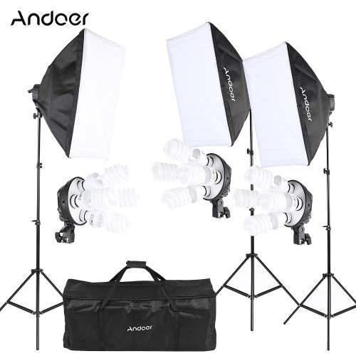 Andoer Kit De Fotografia Y Estudio De Grabacion Para Fotos