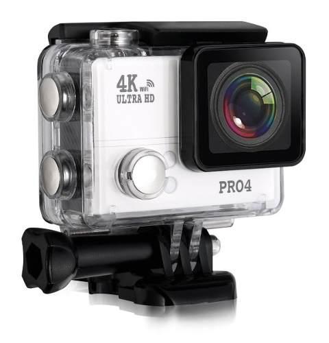 Camara Deportiva Sensor Sony 4k 30mp Microfono Externo Pro4
